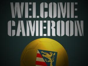 Welcome Cameroon Logo bunt
