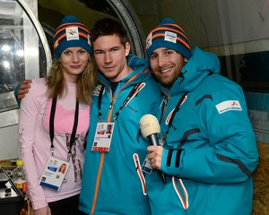 Christian Lamprecht moderiert bei den Youth Olympic Winter Games