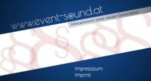 Imagebild event-sound.at Impressum