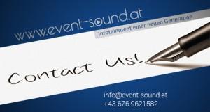 Imagebild event-sound.at Kontakt