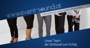 Imagebild event-sound.at Team