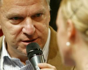 Geri Berger im Gespräch